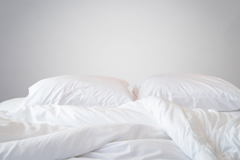 Ren hvid sengetøj
